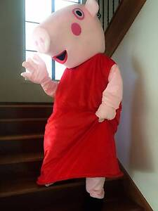 Mascot Party Costume Hire - Peppa Pig Jerrabomberra Queanbeyan Area Preview