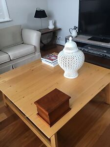 Coco Republic Large Coffee Table with Drawer Seaforth Manly Area Preview