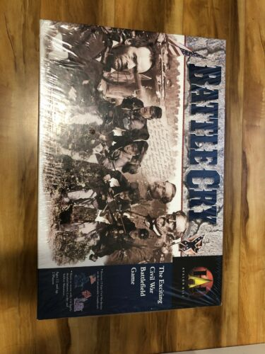 Battle Cry Rare 1999 Civil War Battlefield Game brand new &
