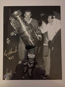 "Eddie Shack 8""x10"" authentic signed photo"