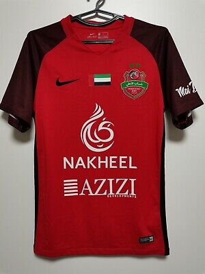 SIZE S SHABAB AL AHLI DUBAI 2019-2020 HOME FOOTBALL SHIRT JERSEY image