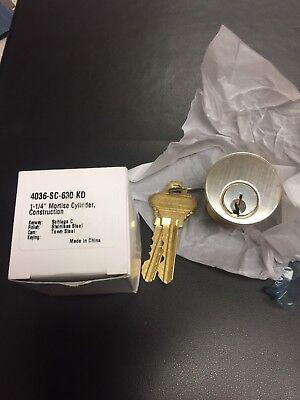 Mortise Lock Cylinder Sc 630 Keyway Schlage C Keyed Different 1-14