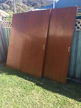 FREE  Timber wardrobe sliding doors Koolewong Gosford Area Preview