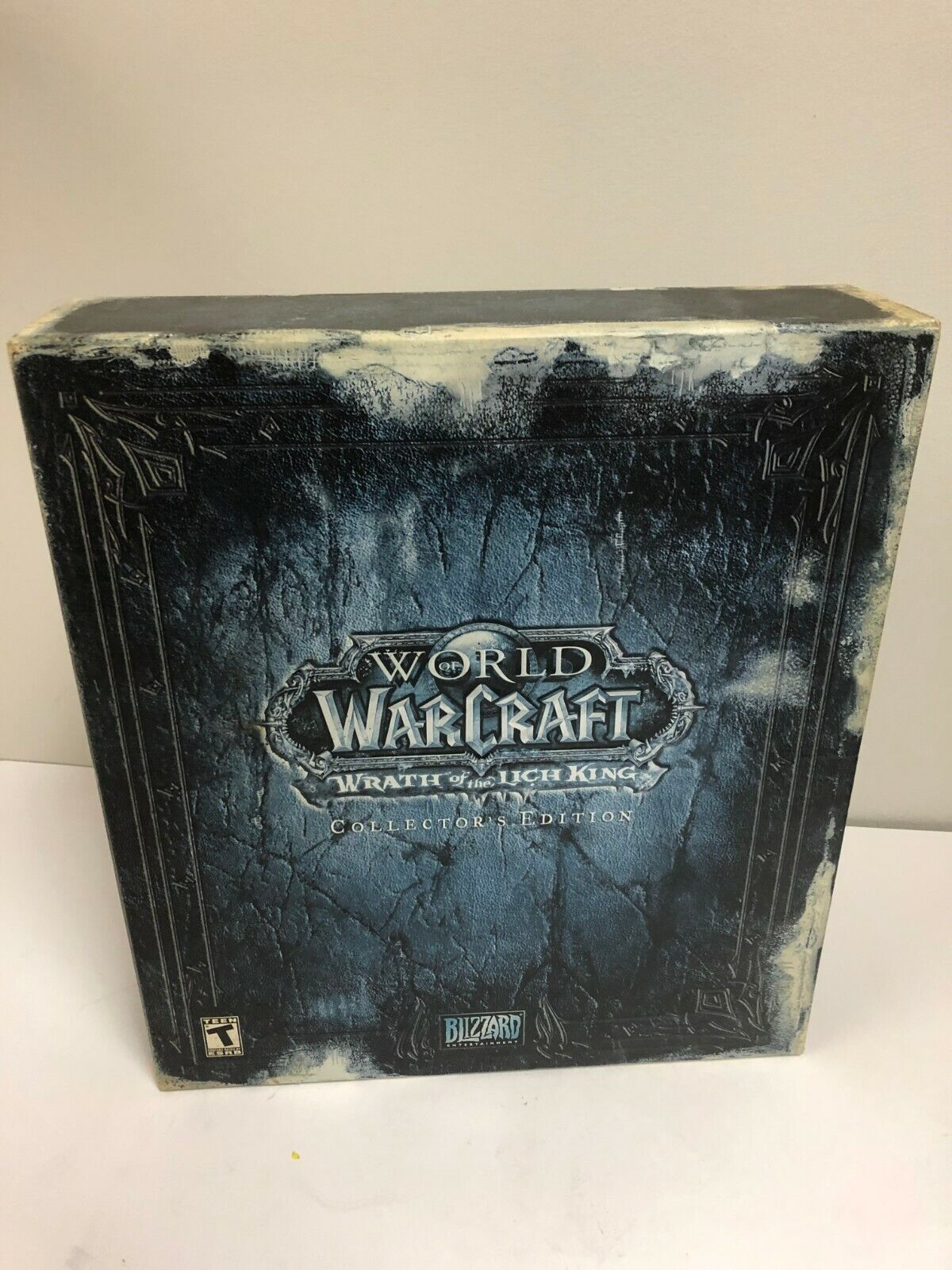 World Of Warcraft Wrath Of The Lich King Collector s Edition - NO GAME READ - $99.95