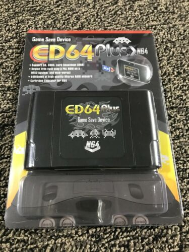 ED64 Plus Everdrive Device N64 Console (+16gb SD Card!) USA FAST FREE SHIPPING !