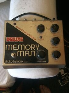 Vintage memory man deluxe and 70s tribute SG