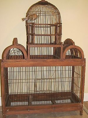 Vintage Bird Cage Extra Large