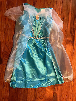 New In Bag Girls 4-6x Disney Elsa Frozen Dress Costume Party - Elsa In Frozen Costume