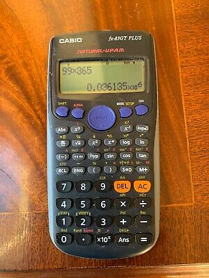 Casio FX-83GT Plus Scientific Calculator, used for sale  Shipping to South Africa