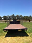 5 metre flatbed farm trailer Burekup Dardanup Area Preview