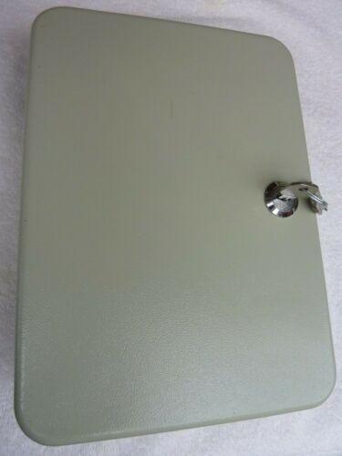 48 Key Metal Wall-Mountable Key Organizer Cabinet Lock Box