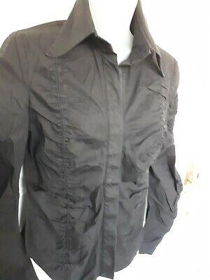 Black Derhy Shirt Steampunk smart Size M