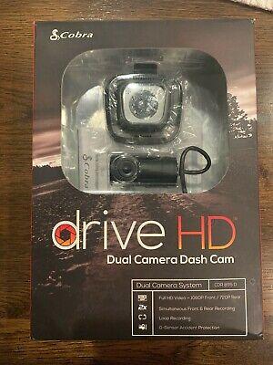 COBRA CDR895D FULL HD 1080P DUAL CAMERA DASH CAM ( USED )