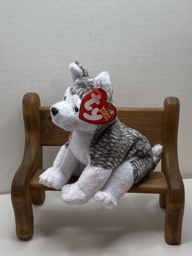 TY Beanie Baby Mukluk The Dog With Tag Retired   DOB: Februa