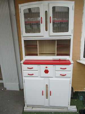 Vintage Kitchen Larder Cabinet Cupboard Unit Retro 1950s 1960s Kitchenette