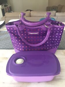 Tupperware insulated lunch bag with container North Tivoli Ipswich City Preview