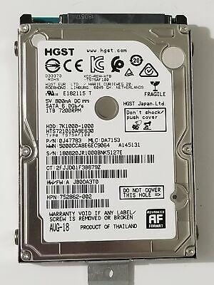 HGST 1TB 2.5