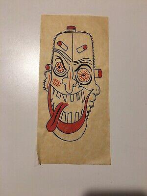 Crazy Clown (Vintage Crazy Clown Monster Transfer Weirdo Iron-On Frankenstein)