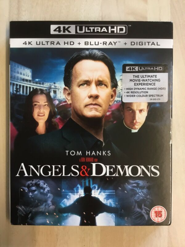 Angels+%26+Demons+4K+Ultra+HD+%2B+Blu-Ray-+LOOSE+DISC.