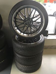 20 MSR wheels with tires