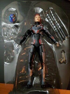 Marvel Legends black widow nebula team suit endgame