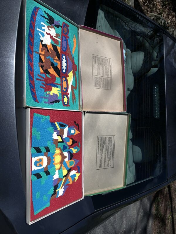 Vintage 1995 Lauri Crepe Foam Rubber Puzzle Castle 2182 Merry Go Round 218O