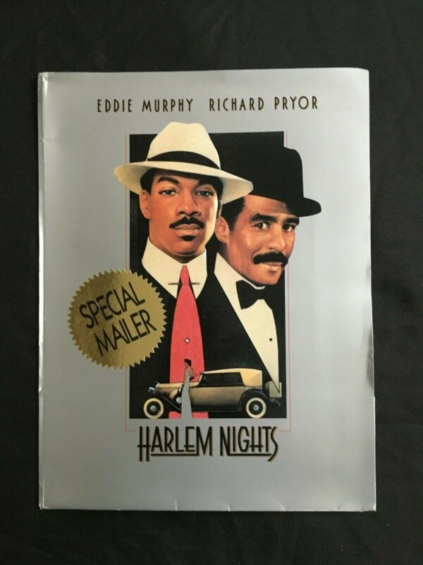 1989 HARLEM NIGHTS Special Mailer Eddie Murphy Gangster Movie Press Kit