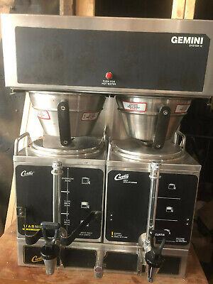Wilbur Curtis Gemini - Gem12 Twin Coffee Brewer Commercial 1.5 Gal Coffee Maker