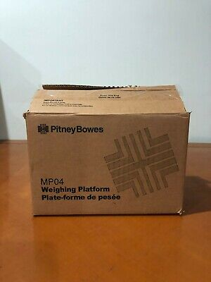 Pitney Bowes Mp04 Postage Meter Weighing Platform Scale