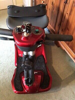 Drive Mobility Scooter Red hardly used remote folding ideal for shopping