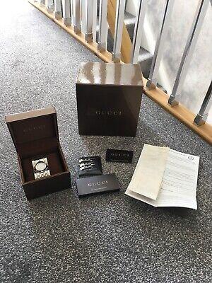 Genuine Gucci ladies twirl bracelet watch (no battery)