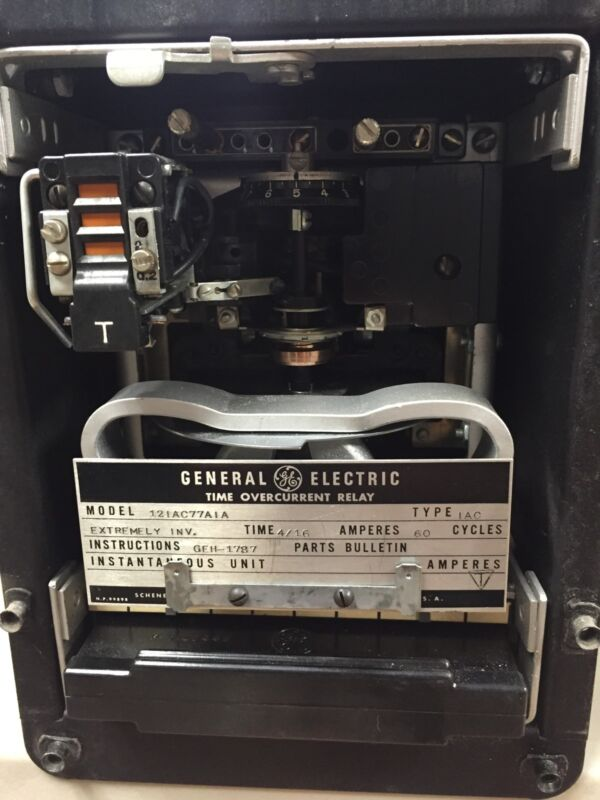 GE Time Overcurrent Relay Model 121AC77AIA