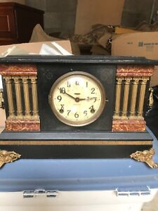Ingraham Mantle clock with key