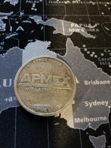 Silver Apmex Round 1 Oz .999 Fine Silver - $28.45