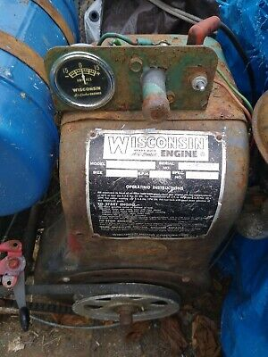 Wisconsin Air Cooled Engine- Model Aenld Spec.209018 Oil Pump And Oil Bath Flt