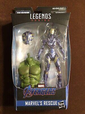 Marvel Legends Rescue Endgame NIB Free Shipping!