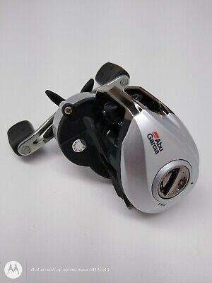 ABU GARCIA SILVER MAX SMAX3  Low Profile Bait casting Fishing Reel Right hand