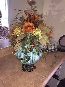 Decors de maison , arrangement floral,  Chandelier sur pied