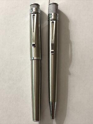 Retro 51 Tornado Fountain Pen and Ballpoint