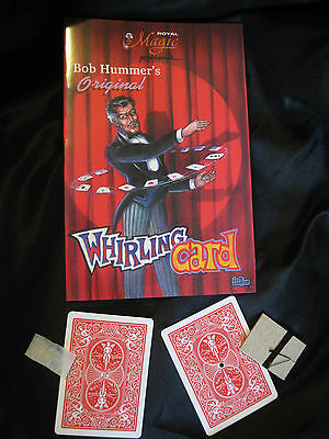 Flying Floating Card Trick Whirling Hummer Make Card Fly Around You Magic