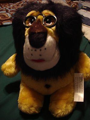 Hubert the Lion Harris Bank Plush and Bank with Tag