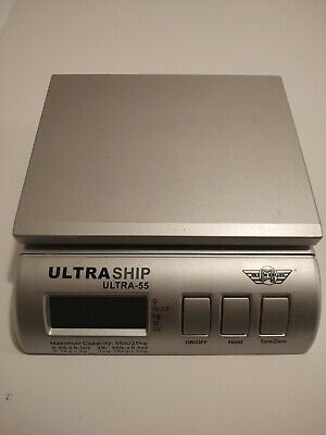 Ultraship 55 Lb. Digital Postal Shipping Kitchen Scale By My Weigh