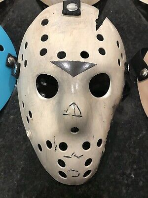 Friday The 13th Jason Voorhees Custom Painted Mask Part 7 The New Blood](Jason Part 7 Mask)