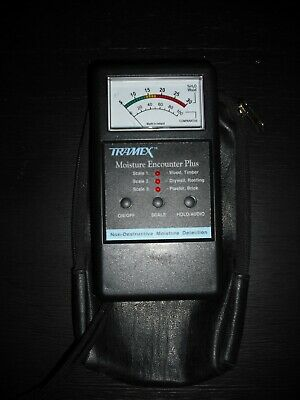 Tramex Mep Moisture Encounter Plus Non-invasive Moisture Meter