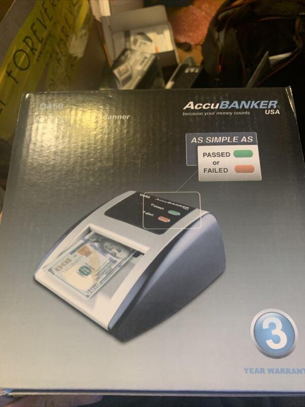 AccuBANKER D450 Bleached Bills Auto Detector -