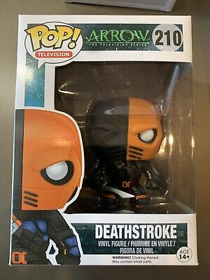 DC Heroes Green Arrow TV Series Deathstroke Funko Pop #210 Vinyl Figure FP20 Heroes Collectible Figure Series