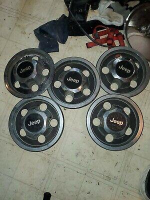 Jeep cherokee wheel center caps