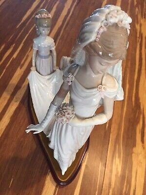 Lladro Figurine 1446 Here Comes The Bride in original box