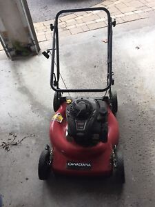 Excellent condition used Canadiana lawn mower