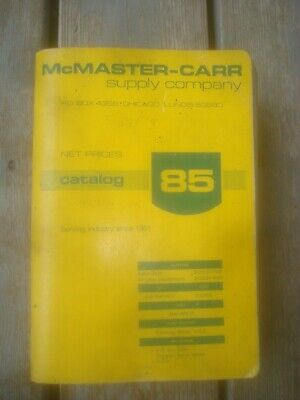 1979 MCMASTER-CARR SUPPLY COMPANY CATALOG 85 ~ PRICE GUIDE PUBLICATION ~ Vintage